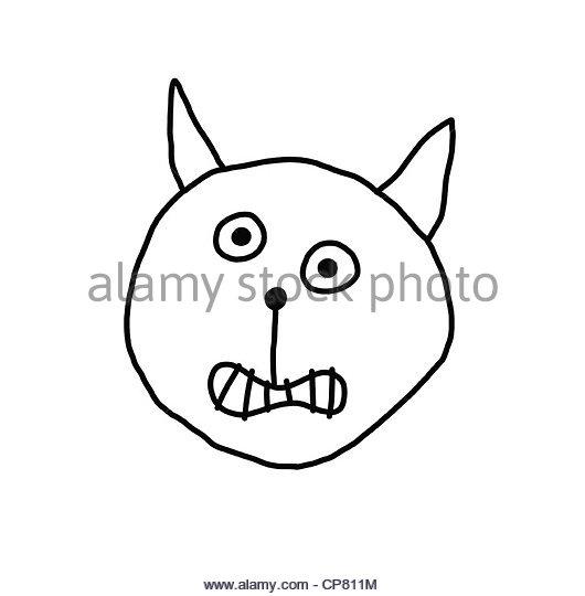530x540 Cat Cartoon Face Stock Photos Amp Cat Cartoon Face Stock Images