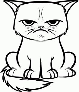 262x302 Filegrumpy Cat Drawing.jpg