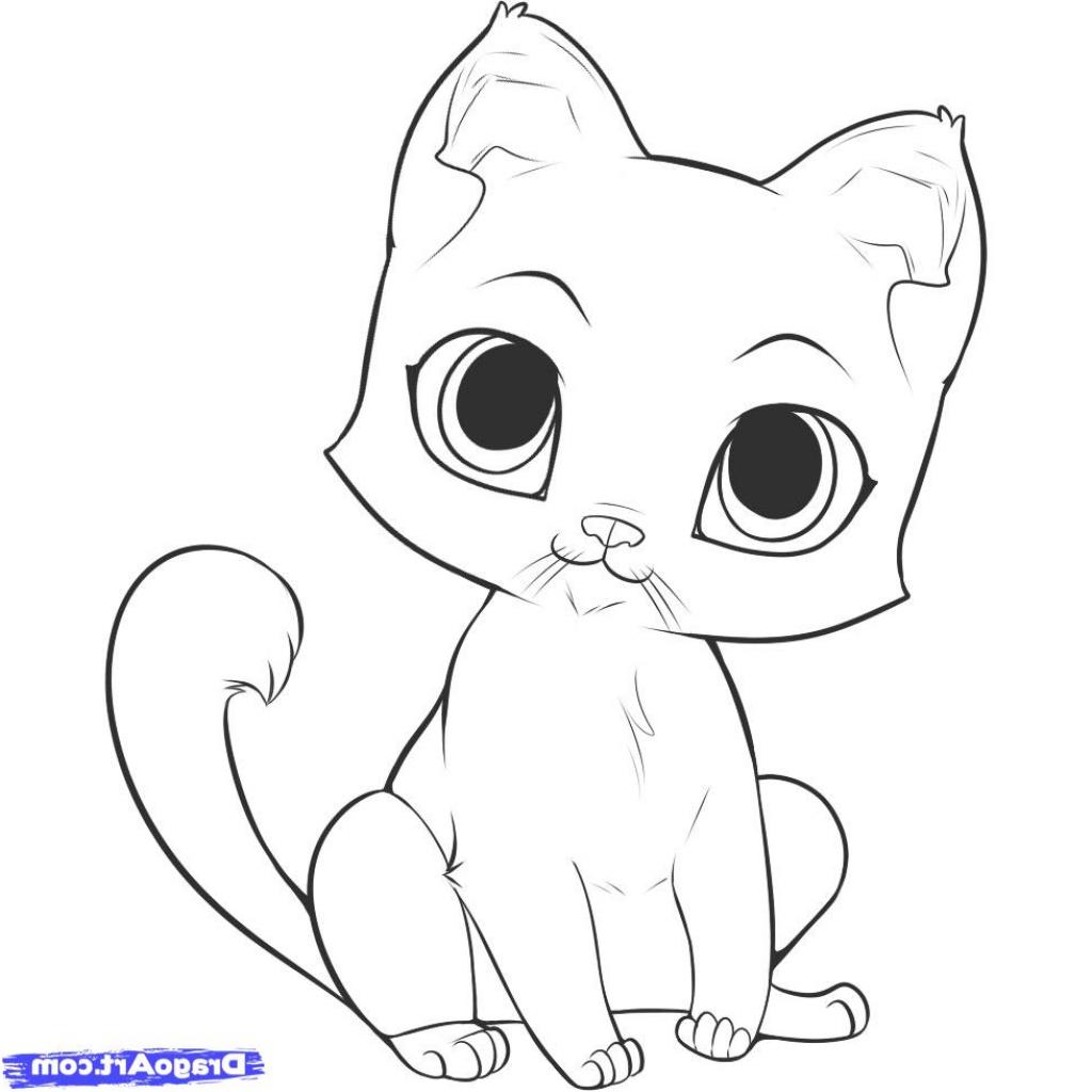 1024x1024 Simple Cat Drawing For Kids Cartoon Kitten Google Search Wind