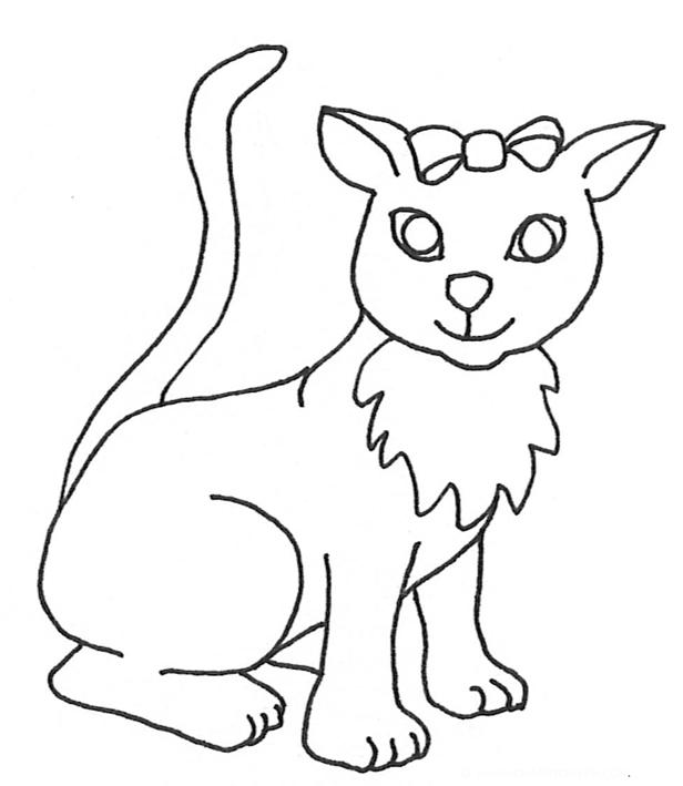 616x709 Cat Clip Art, Cat Sketches, Cat Drawings Amp Graphics