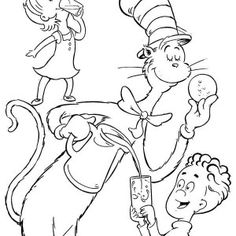 Cat In Hat Drawing at GetDrawings.com   Free for personal ...