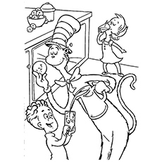 230x230 Top 20 Free Printable Cat In The Hat Coloring Pages Online