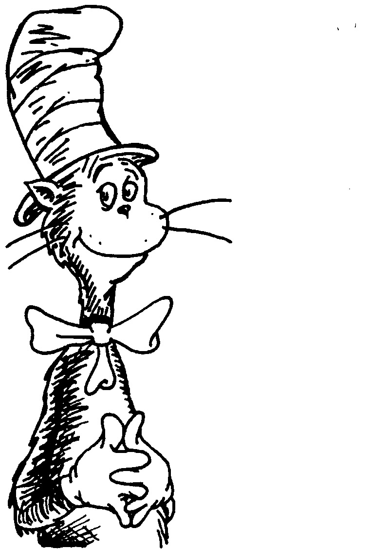 760x1128 Coloring Pages Beautiful Cat In The Hat Plane