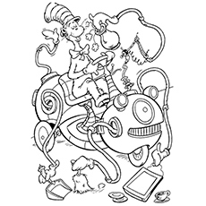 230x230 The Cat In Hat Coloring Page Dr Seuss Fun Pages