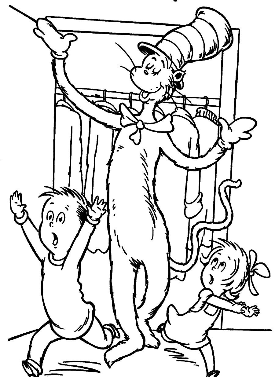 900x1234 Dr Seuss Coloring Pages