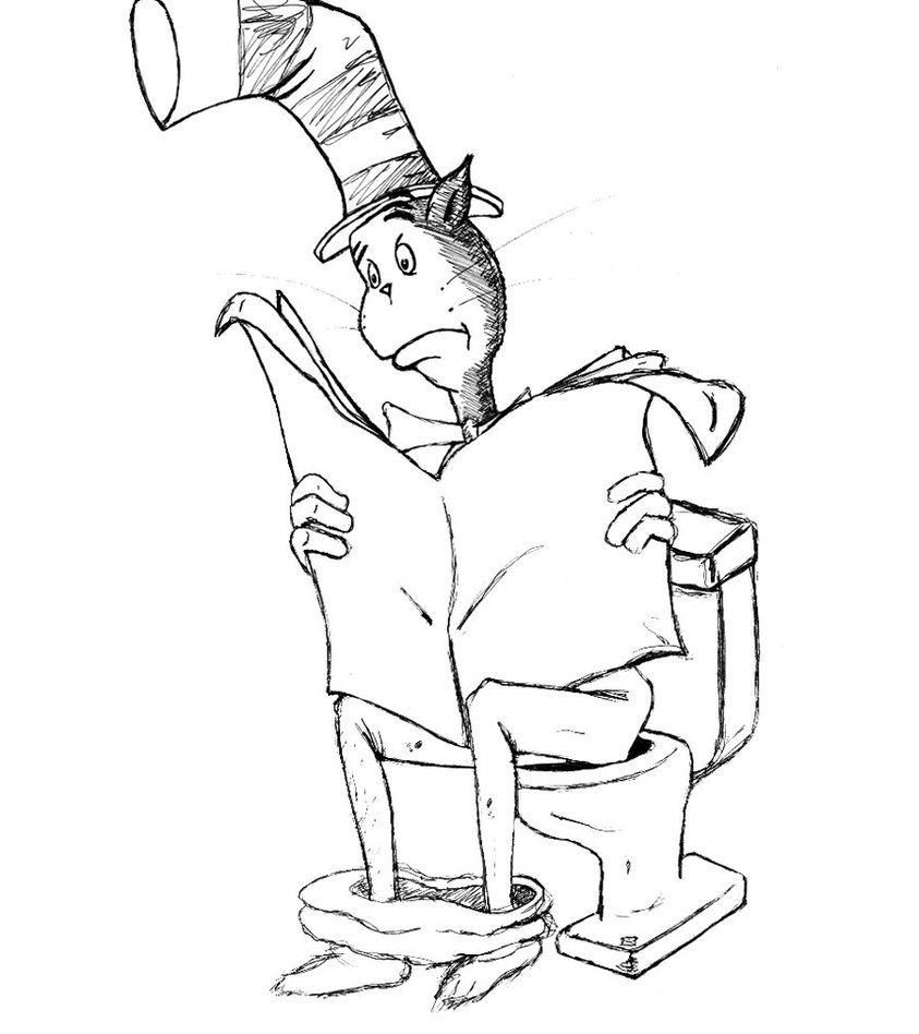 cat in the hat hat drawing at getdrawings com free for personal