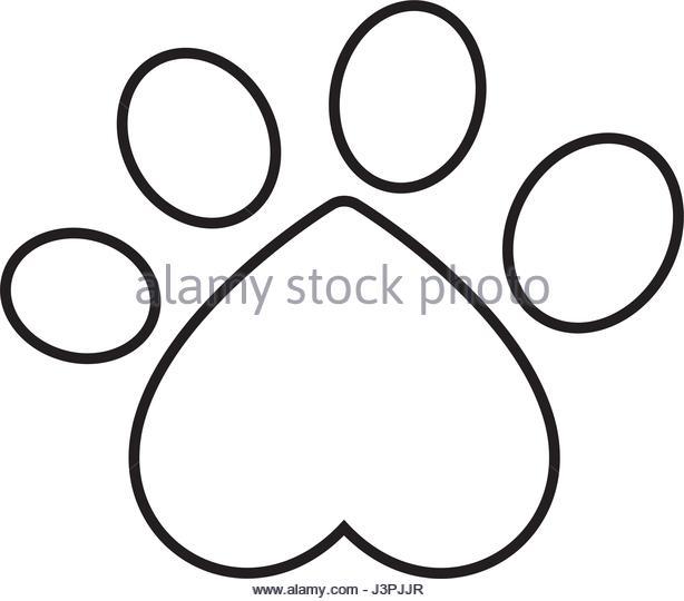 614x540 Dog Paw Print Stock Photos Amp Dog Paw Print Stock Images