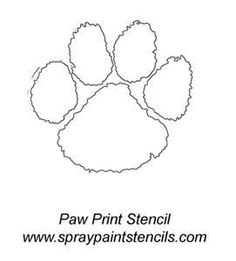 236x261 How To Draw A Tiger Paw Collection
