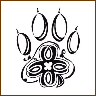 334x334 I Like The Of Having A Celtic Paw With Pets Leave Pawprints