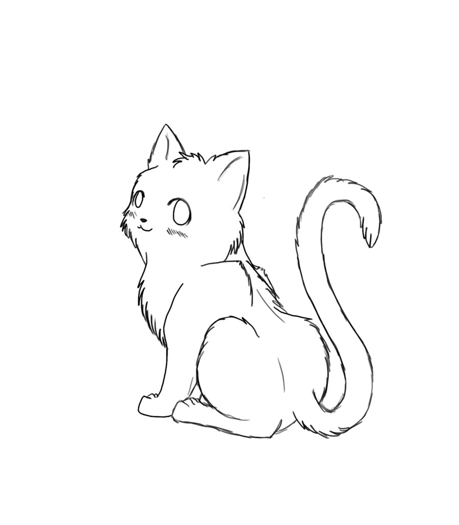 900x1029 Free Printable Cat Coloring Pages For Kids