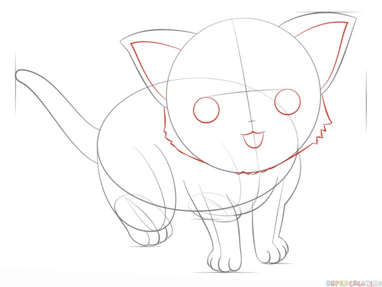 765x575 Drawn Manga Cat