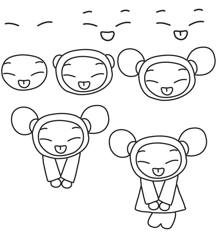 700x800 How To Draw A Cartoon Cat Step By Step Drawing Sketch Ideas