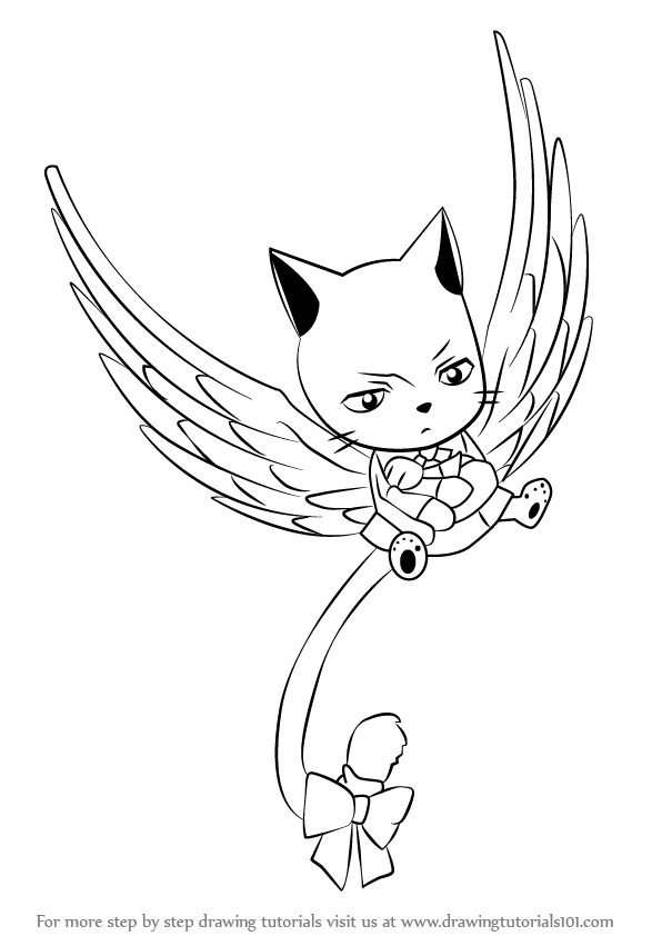 596x842 Learn How To Draw Carla From Fairy Tail (Fairy Tail) Step By Step