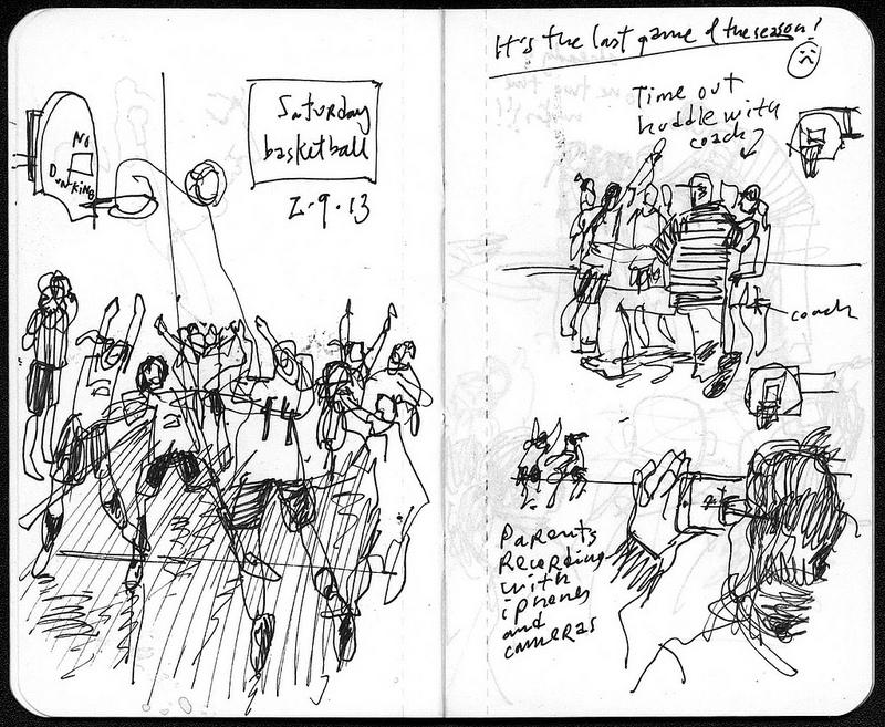 800x657 Urban Sketchers Small Sketchbook, Great Action [Sketchbook