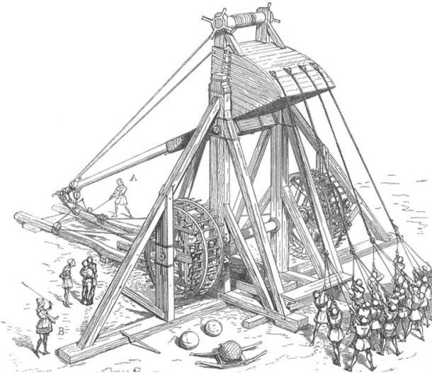 610x526 Catapult The Long Reaching History Of A Prominent Medieval Siege