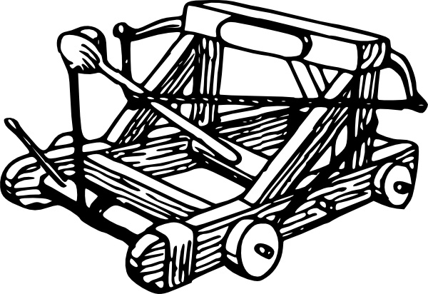 600x412 Catapult Clip Art Free Vector In Open Office Drawing Svg ( Svg