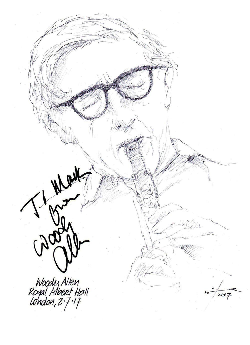 1000x1380 Drawing Woody Allen