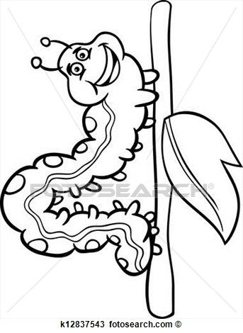 Catepillar Drawing at GetDrawings.com | Free for personal use ...