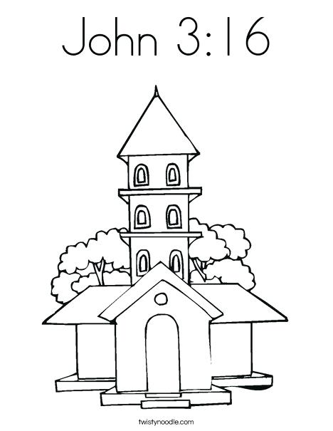468x605 Church Coloring Pages Church Coloring Page St John The Baptist