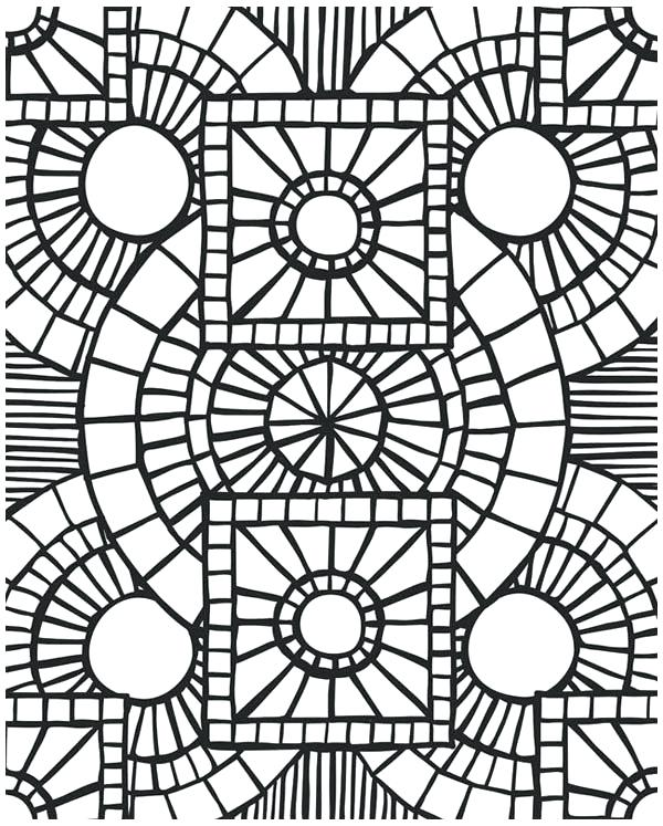 600x747 Church Coloring Pages Church Window Mosaic Coloring Page Catholic