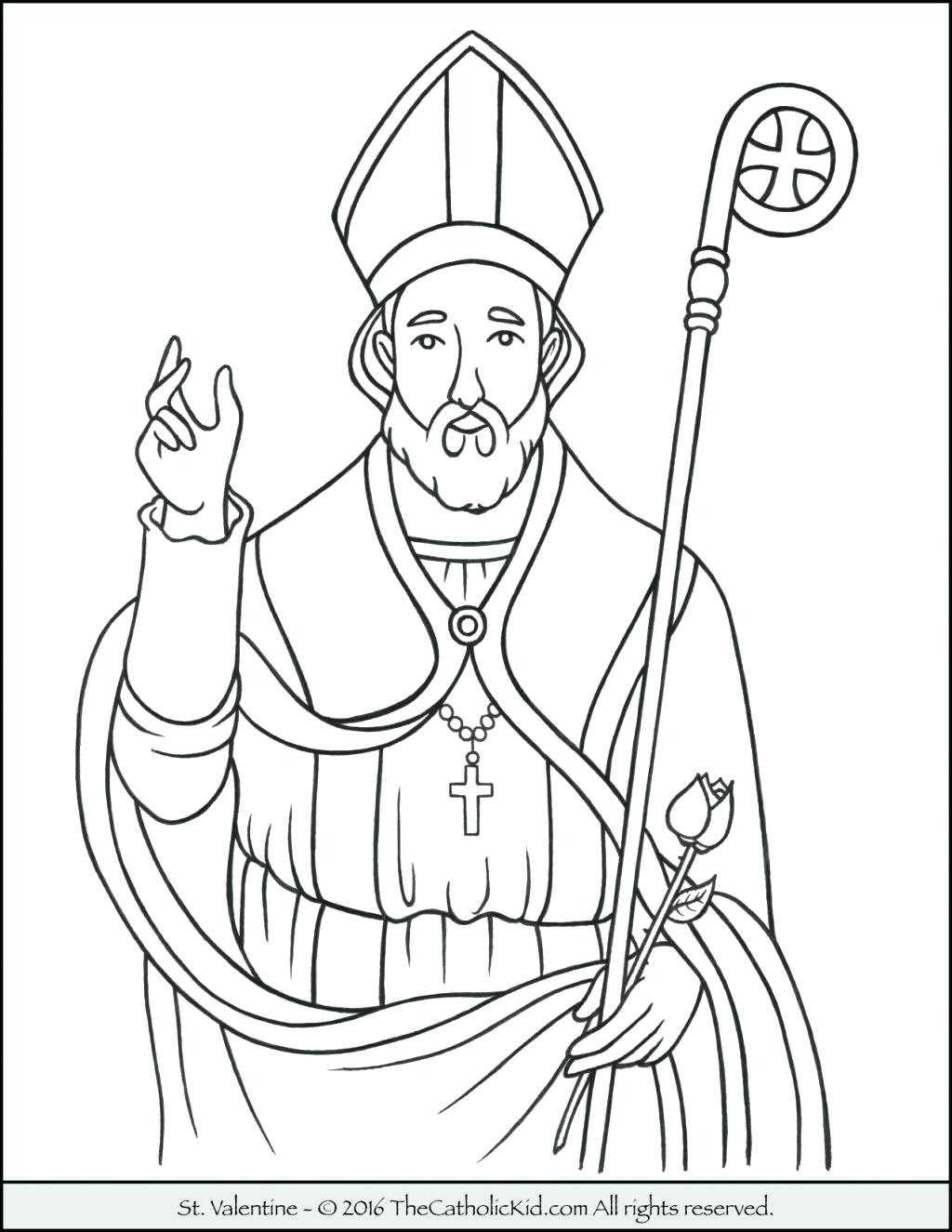 1024x1325 Coloring Catholic Church Coloring Pages St The Archangel Free
