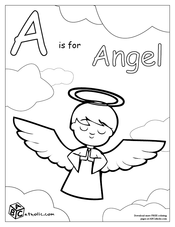 612x792 Catholic Church Coloring Pages