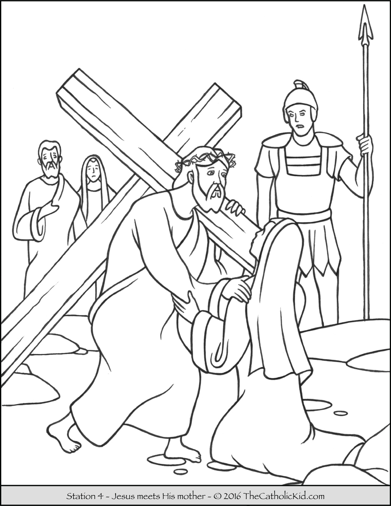 1250x1618 Stations Of The Cross Coloring Pages Catholic Kid