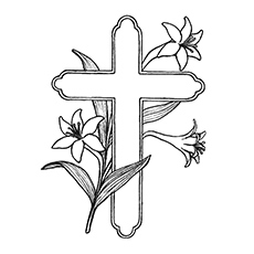 230x230 Top 10 Free Printable Cross Coloring Pages Online