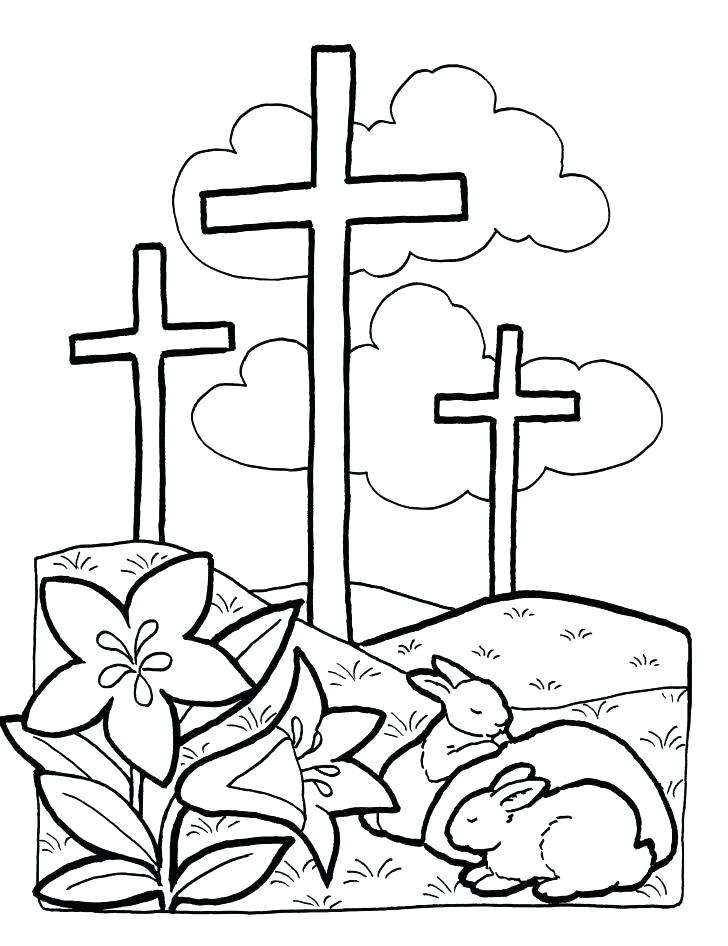 728x946 Catholic Coloring Pages Beautiful Cross Page Holy Trinity Murs