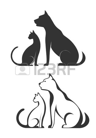 314x450 28,928 Dogs And Cats Stock Vector Illustration And Royalty Free