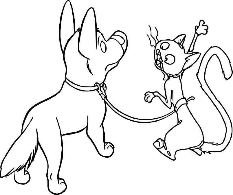 805x674 Dogs And Cats Coloring Pages Raining Cats And Dogs Coloring Page