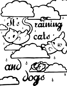 271x351 It's Raining Cats And Dogs By Fastaanta1924