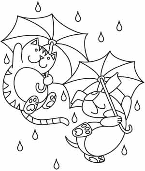 300x354 Raining Cats And Dogs Urban Threads Unique And Awesome