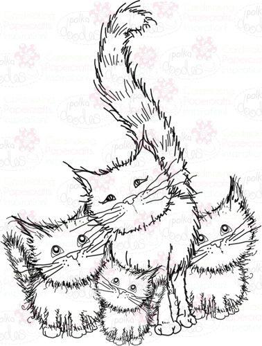 378x500 Catkittens Digital Stamp