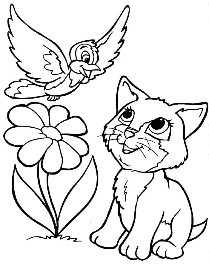 700x890 Coloring Pages Kittens Free Coloring Pages Kittens Cat Small Two