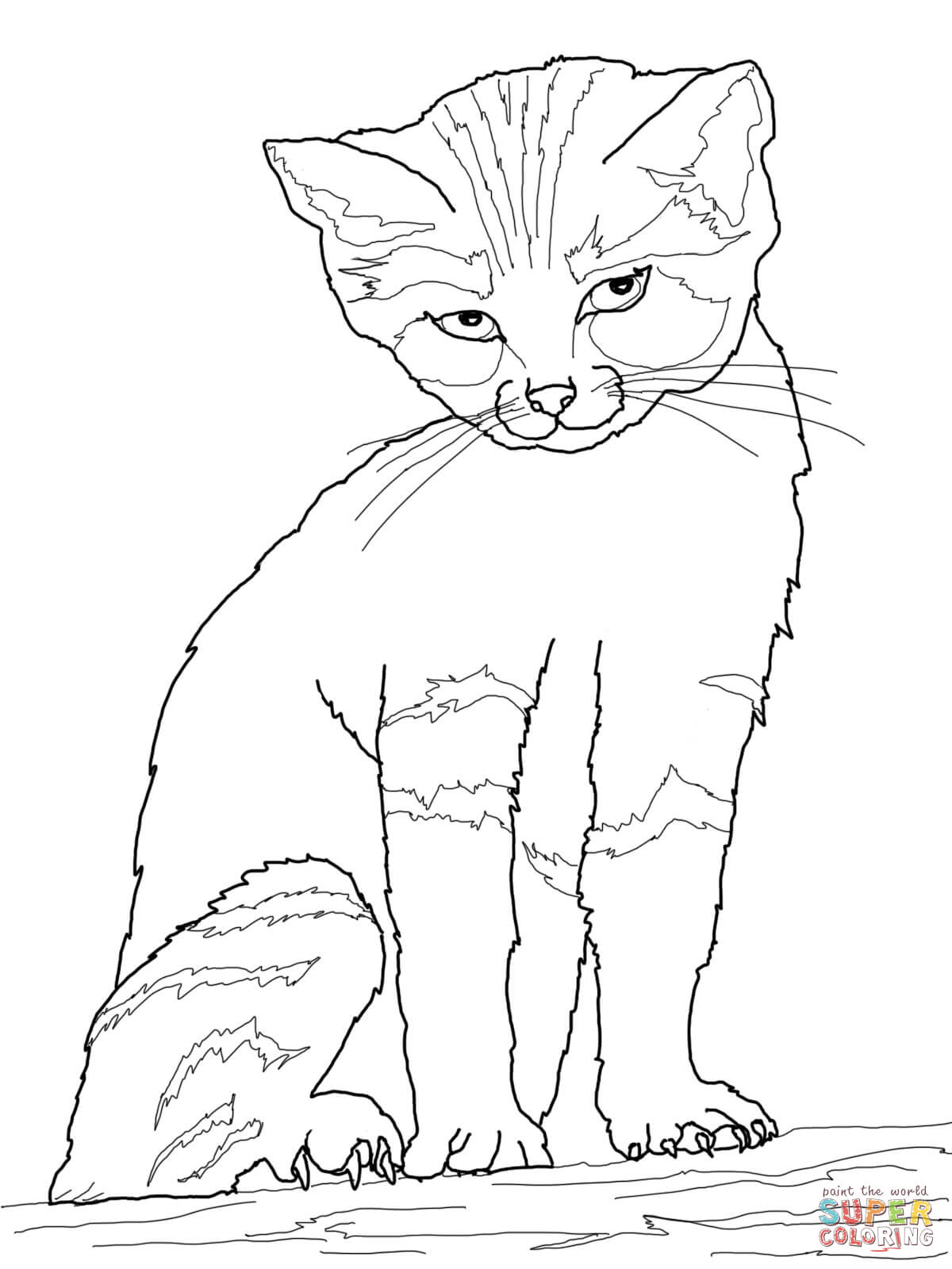 Cats And Kittens Drawing at GetDrawings.com | Free for personal use ...