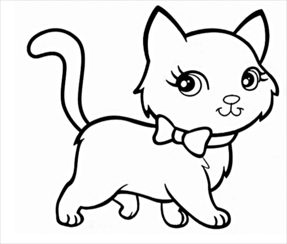 585x498 Now Cats Drawing Pictures How To Draw A Cat Factory