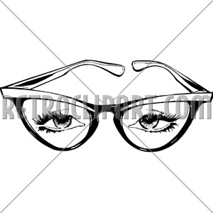 300x300 Cat Eye Glasses,