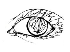 236x176 More Collections Like Tribal Cat Eye Tattoo By