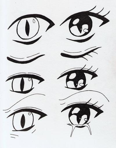 400x508 Creative Works Cat Eyes By Aya Anime