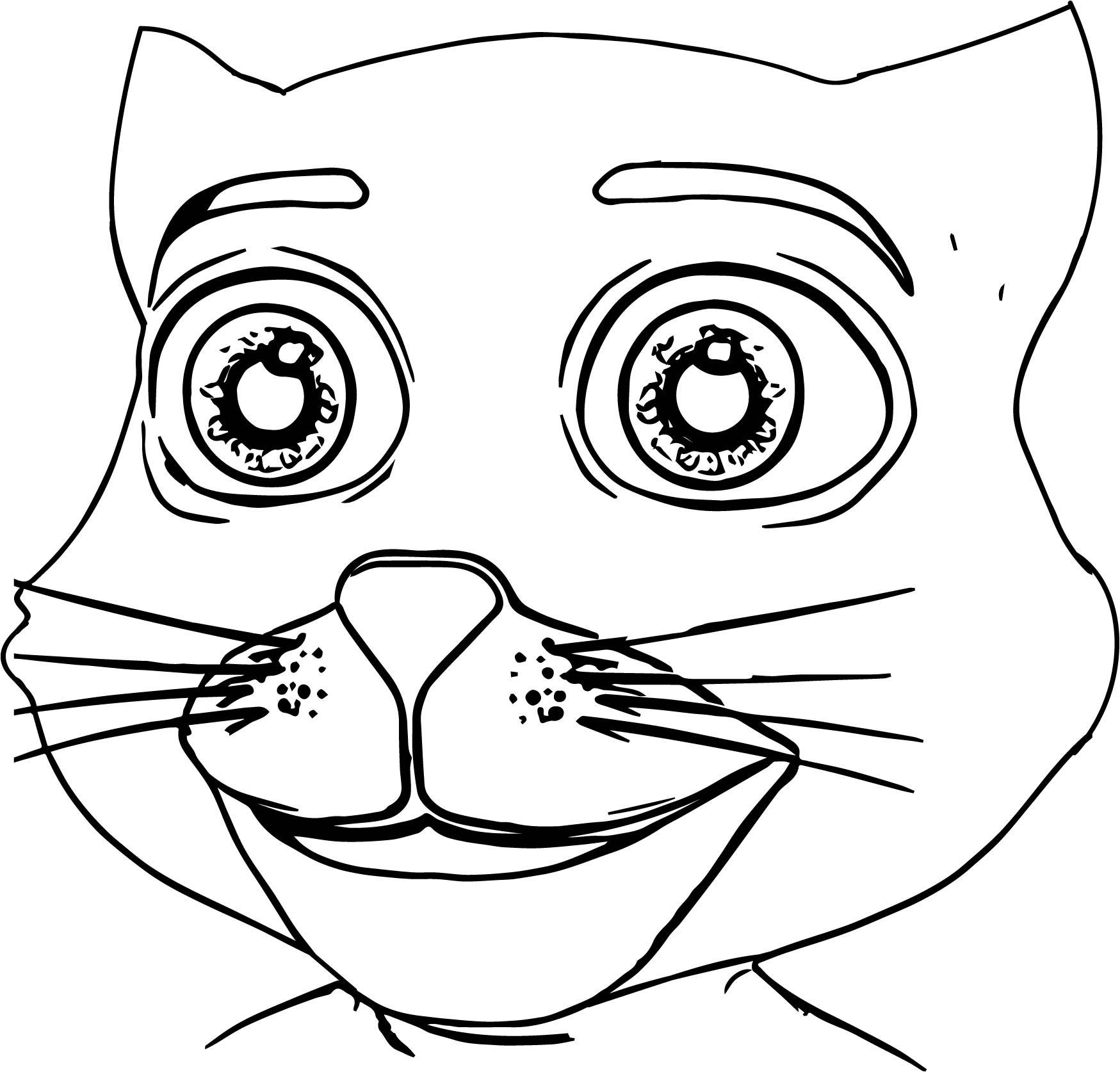 1749x1674 Appealing Draw Coloring For Your Line Drawings With Pict Of Cat