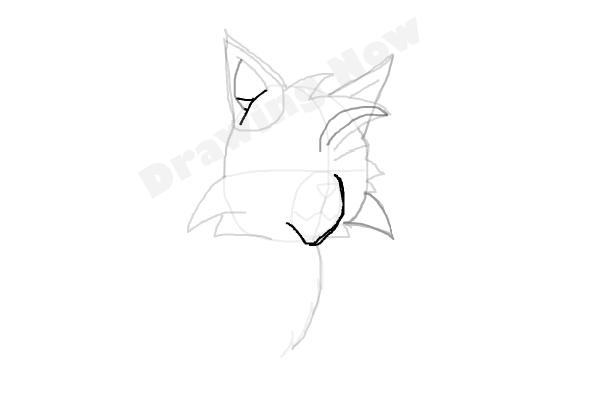 600x400 How To Draw Graystripe From Warrior Cats
