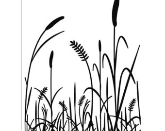 340x270 Cattails Embossing Etsy