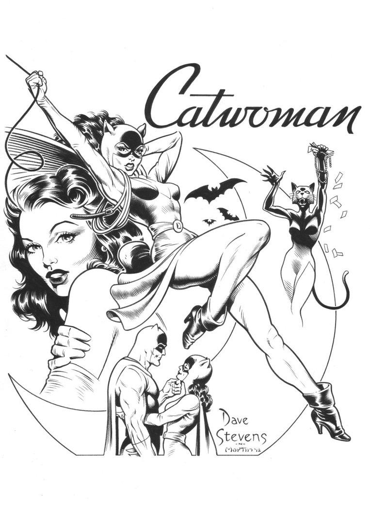 763x1047 Dave Stevens Catwoman Recreation By Sky Boy