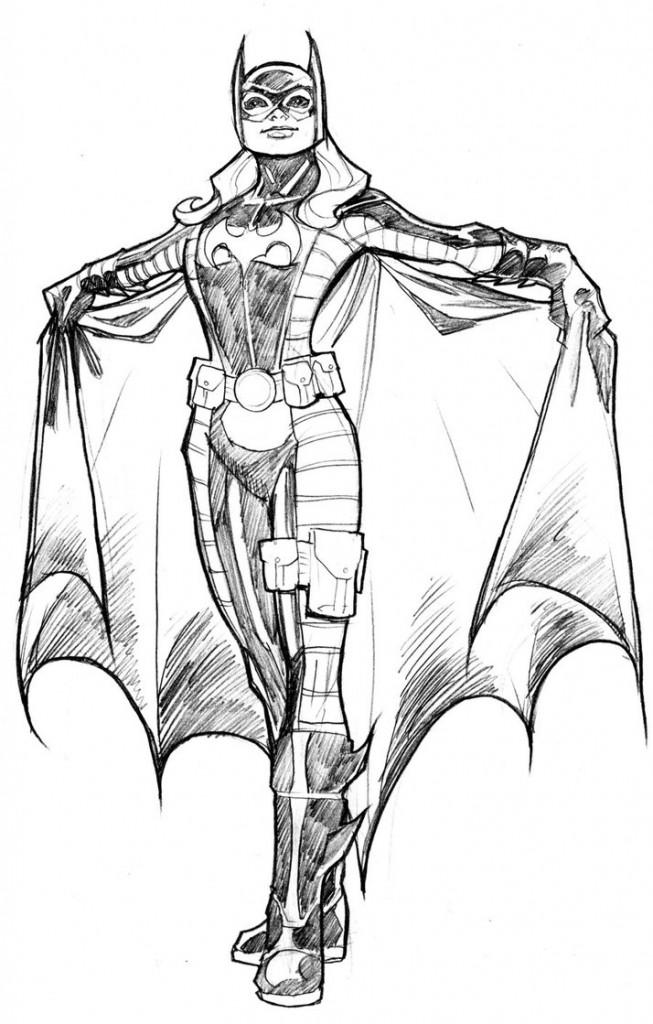 Catwoman Drawing At GetDrawings