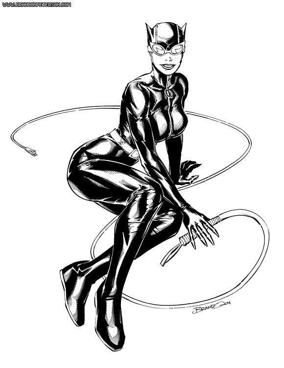 580x750 2004 Catwoman By Brandonpeterson