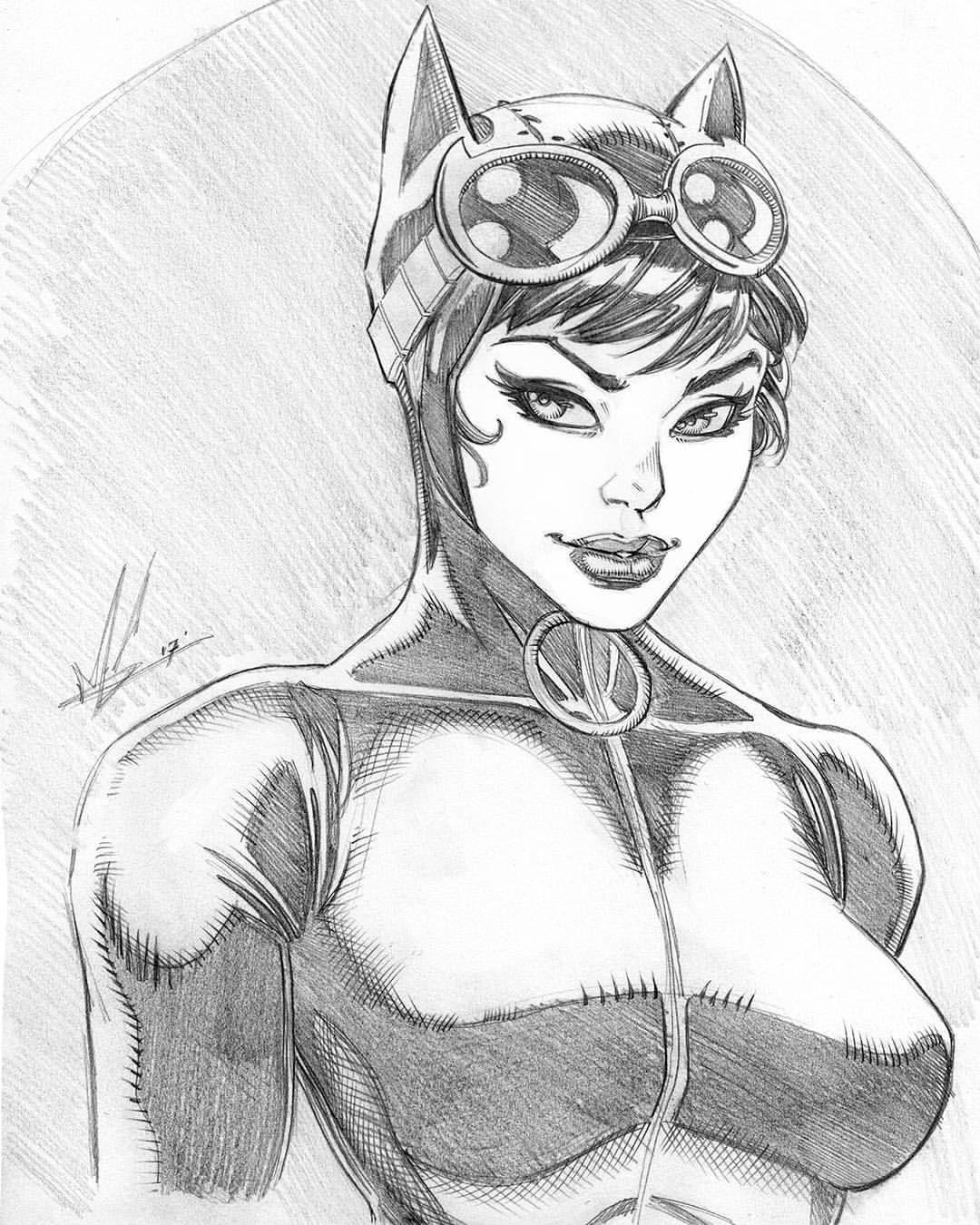 1080x1350 Catwoman By Marc Huizinga Dc Comics Super Hero