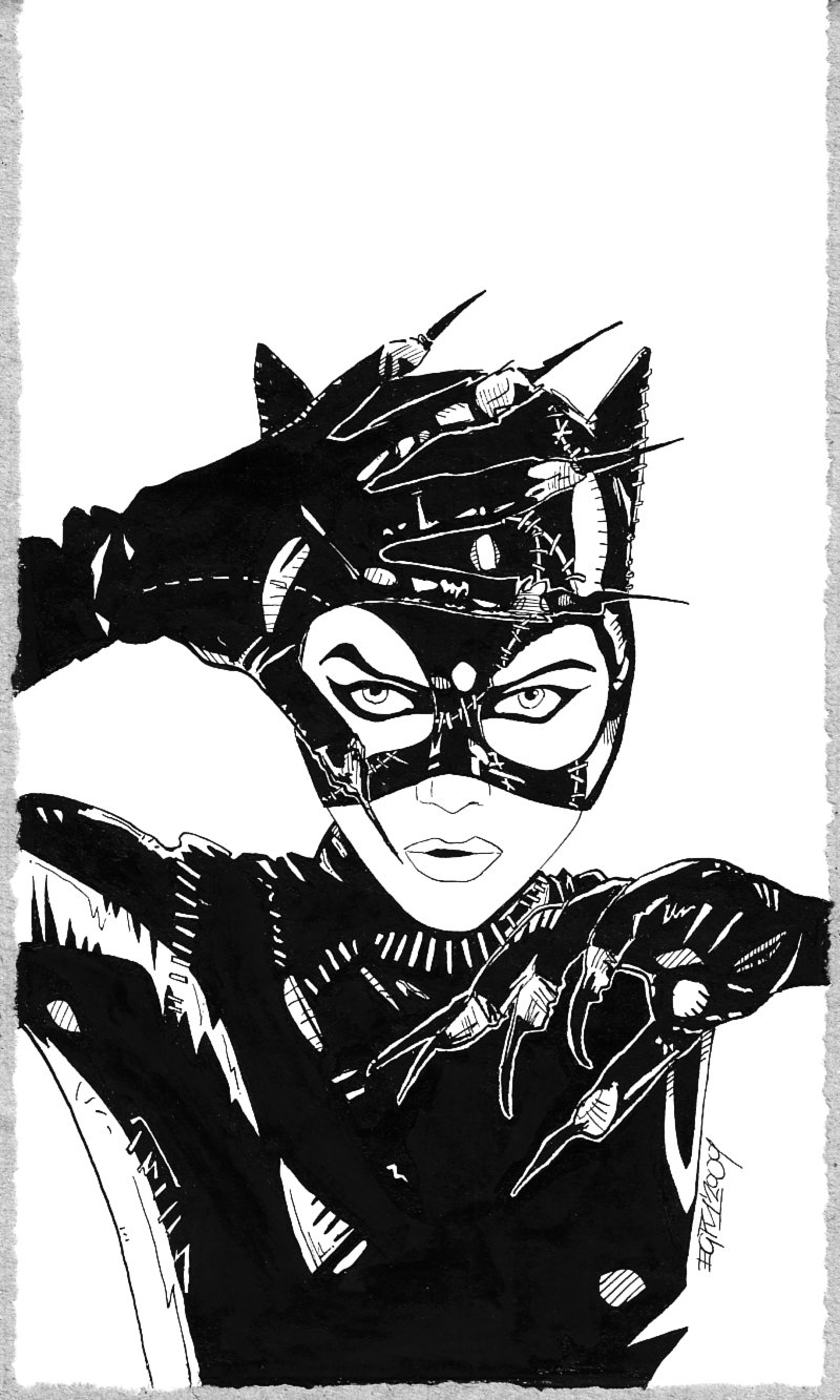 800x1333 Catwoman By Piciart