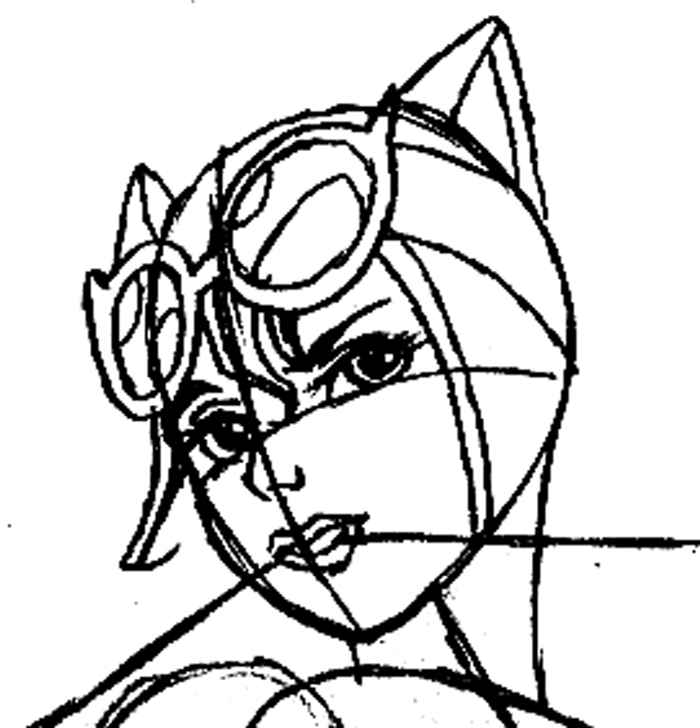 700x728 How To Draw Dc Comics Catwoman With Easy Step By Step Drawing