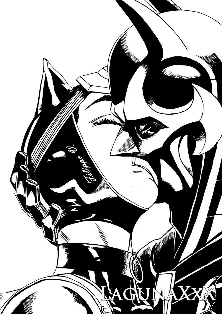 752x1063 Batman And Catwoman Kiss By Lagunaxxx